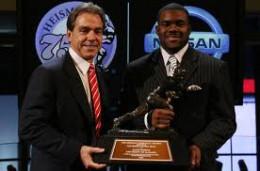 Mark Ingram 75th Heisman Trophy Winner 2009