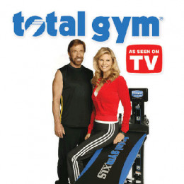 Total Gym, Christie Brinkley, and Chuck Norris