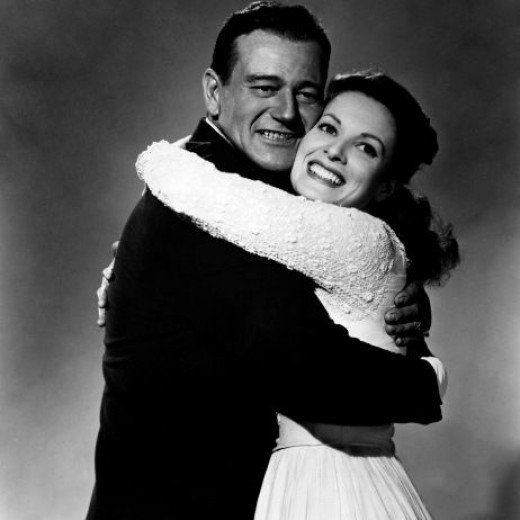 Wayne and O'Hara