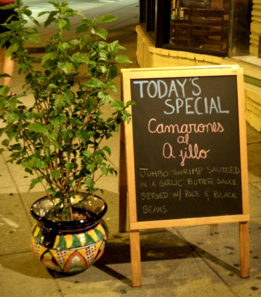 Check life's menu board to know who's special.