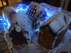 How to Make a Gingerbread Christmas Village