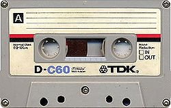 CASSETTE TAPE these went out years ago.