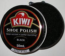 SHOE POLISH who do you know who still uses this stuff?