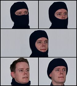 SKI MASK but you do not know how to ski.