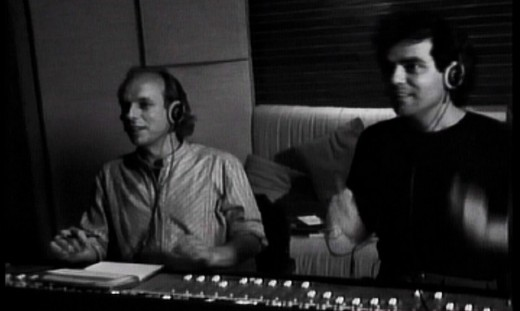 Brian Eno and Daniel Lanois, Producers of U2's The Joshua Tree