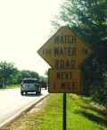 Turn Around Don't Drown (TADD) Flood Water Driving Safety Warnings