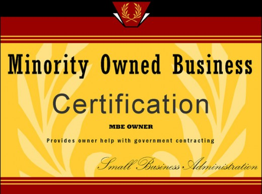 Minority owned business certification helps businesses get an inside track on government contracts and sometimes corporate business.