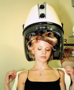 Coloring your hair, rolling it, using hot curlers and hair dryers are all causes of hair loss.