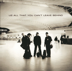 Cover of U2's All That You Can't Leave Behind