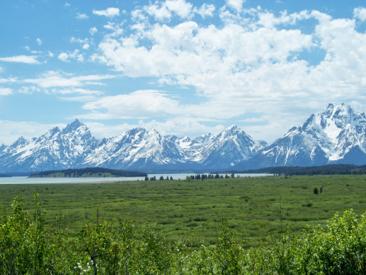 Grand Teton National Park - Jackson Lake Lodge