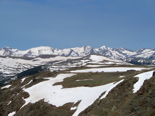 Rocky Mountain National Park - Trail Ridge Rd