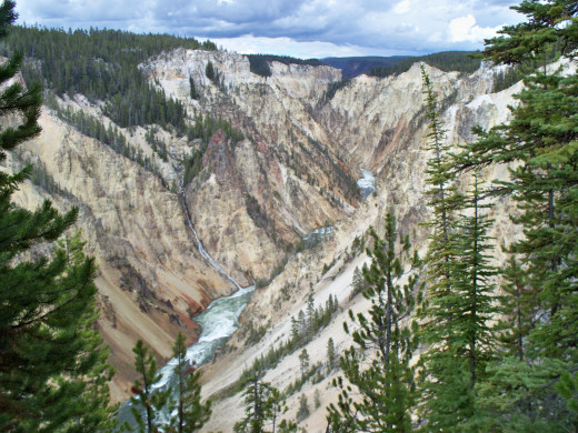 Yellowstone National Park - Grand Canyon of Yellowstone