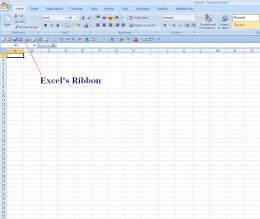 Excel's Ribbon