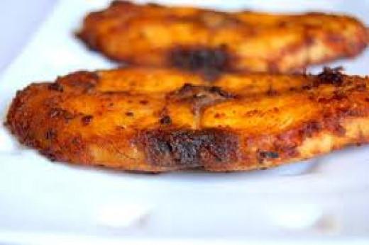 Fish Fry Kerala style.