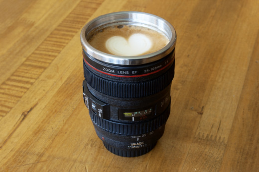 Lens Cups -- great gift idea.