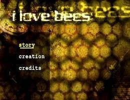 I Love Bees Alternate Reality Game