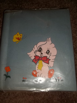 My memory book that mom made when I was young.