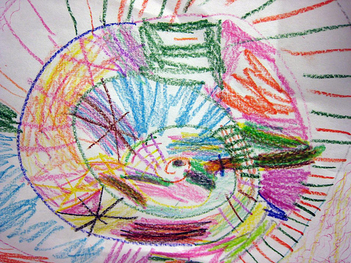 The creation of art teaches kids the basics of solving complex problems.