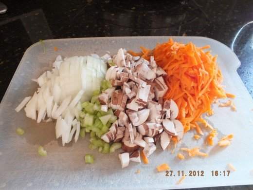 You will want to chop your veggies thinner so they roll up nicely.