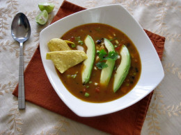 The Best Chicken Tortilla Soup!