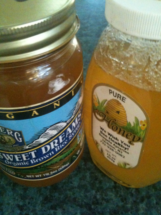 Consider alternatives to sugar, such as honey or brown rice syrup