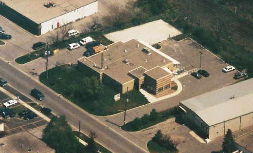 The new Animal Shelter after construction as seen on May 6, 1998.