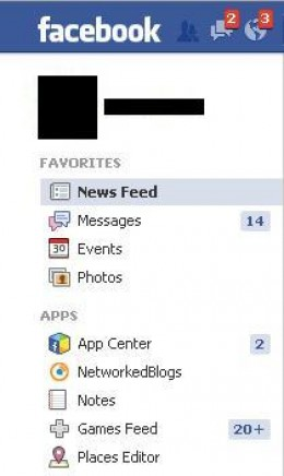 """Open your Web browser and navigate to facebook.com. Click """"Photos"""" beneath """"Favorites."""""""