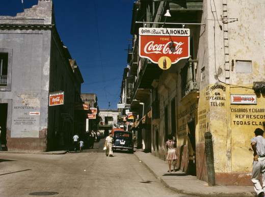 This street in Old San Juan was photographed by Jack Delano in December 1941.