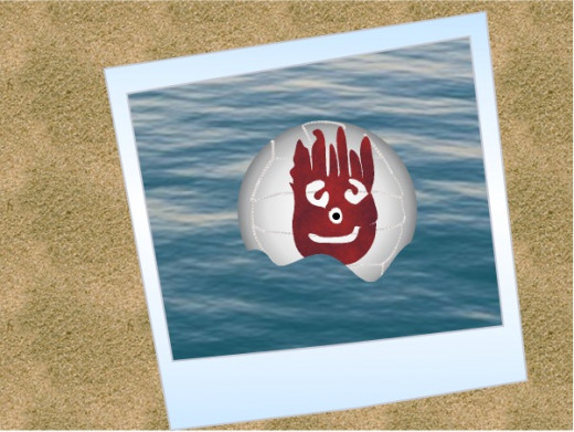 "Wilson Ball from ""Cast Away"""