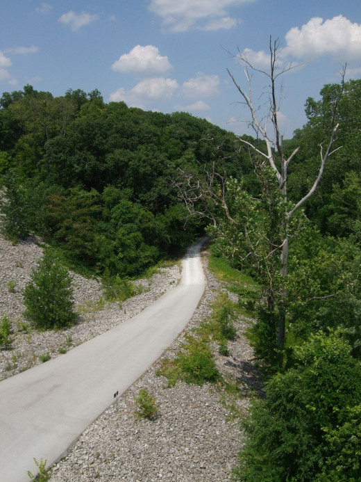 Katy Trail at Highway 364
