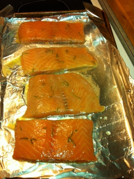 Roast on a foil lined tray.