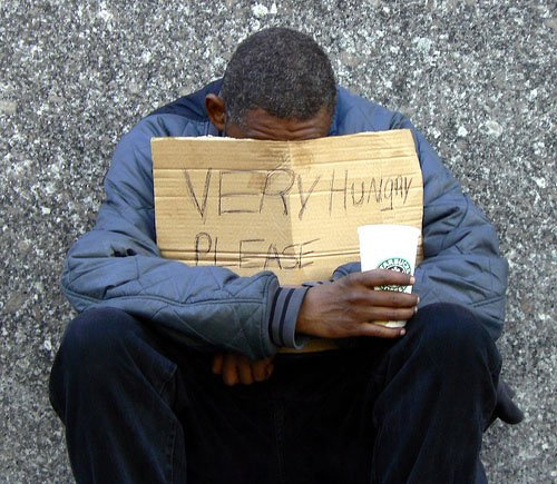 The homeless need love and help - not a blind eye