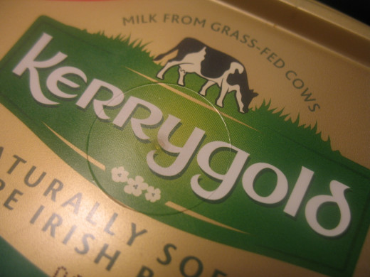 Kerrygold Butter from Grass-Fed Cows