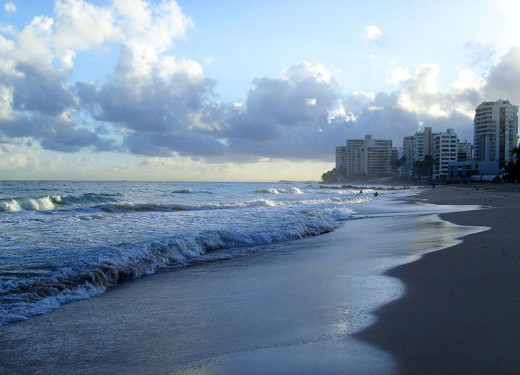 Jami Dwyer photographed Condado Beach on December 8, 2007.