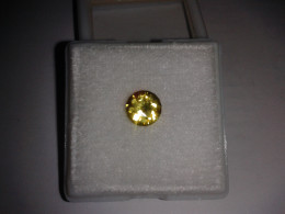 1ct Yellow colour change Sapphire