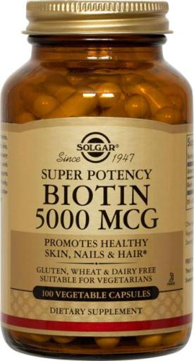 Biotin Vegetable Supplements I I'm taking for my hair and nails