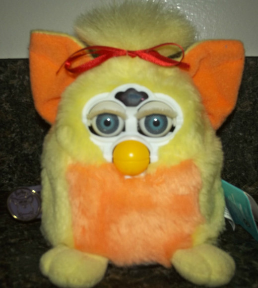 A Furby from the past.