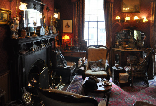 The Recreation of  Sherlock Holmes Sitting Room