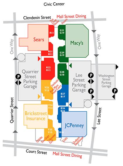 Charleston Town Center layout
