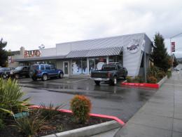 Boulevard Burger location at Castro Valley Ca. on Castro Valley Blvd.