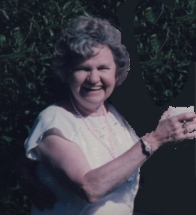 Aunt Marion (1918-2012) Recipient of the labor-intensive potholders she thought were from K-Mart