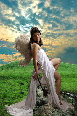earth angel from roycieposie Source: flickr.com