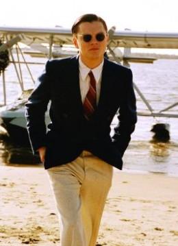 Leornado Dicaprio as Howard Hughes in 'The Aviator'