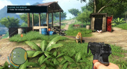 Farcry 3 Getting A Friend (the Tiger) to Play the Spoiler