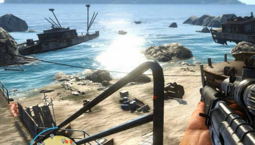 Farcry 3 Get Rid of the Reinforcements at the Beach after listening to the Medusa's call.