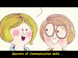 Secrets of Communication Skill