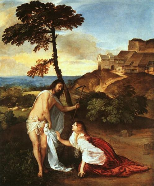 Noli me tangere, Titian (c1488-1576)