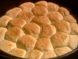 Sourdough Biscuits were a popular item prepared by Chuckwagon Cooks. If the cook could prepare biscuits he was a popular cook.