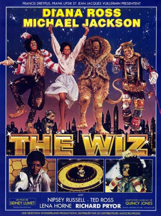 The Wiz (1978) French poster