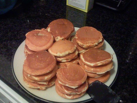 In case you don't know Flapjacks was what the old Chuckwagon Cooks called pancakes. Flapjacks were really popular with the cowboys.